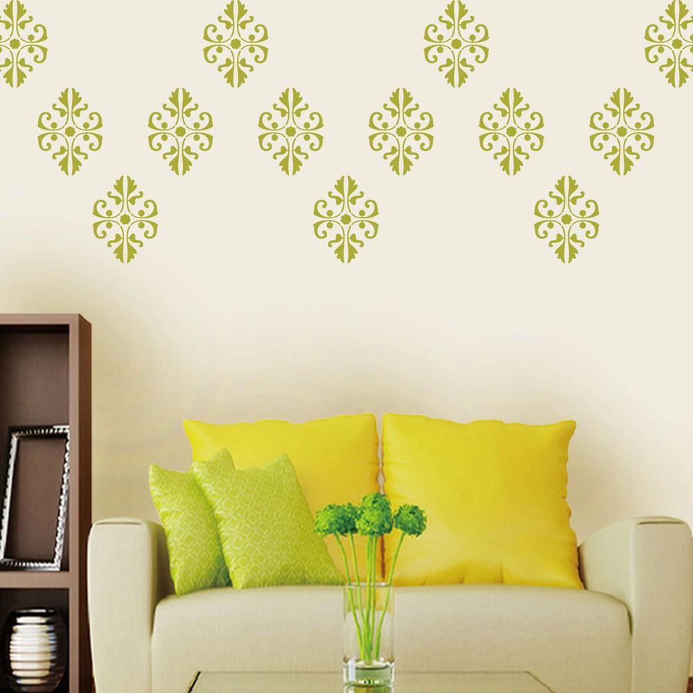 Exelent Stencil Art For Walls Composition - Wall Art Ideas ...