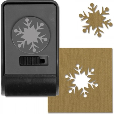 SIZZIX Paper Punch - Snowflake #2, Large 661004 Decorative Stencil