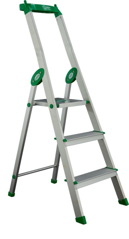 Bathla Eco 2 Step Aluminium Ladder(With Platform, Tool Tray)