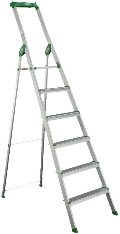 Bathla Eco 5 Step Aluminium Ladder(With Platform, Tool Tray)
