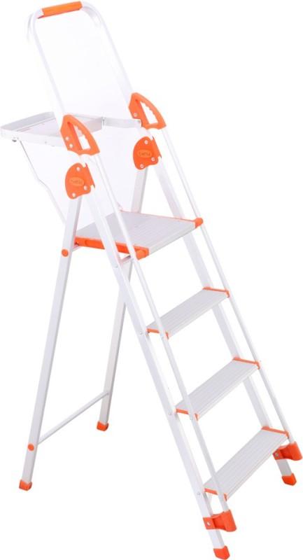 Bathla Baby 3 Step Aluminium Ladder(With Platform, Hand Rail)