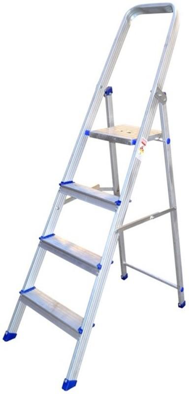 Synergy Aluminium Ladder(With Platform, Hand Rail)