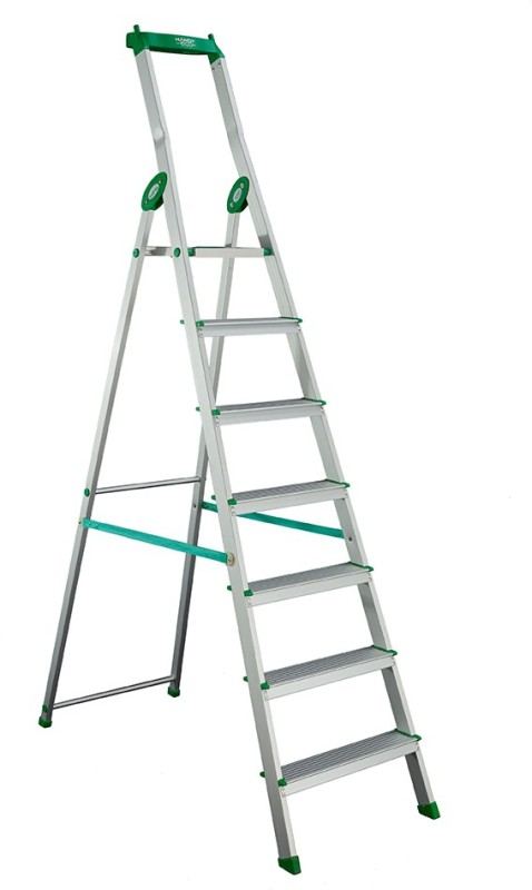Bathla Eco 6 Step Aluminium Ladder(With Platform, Tool Tray)