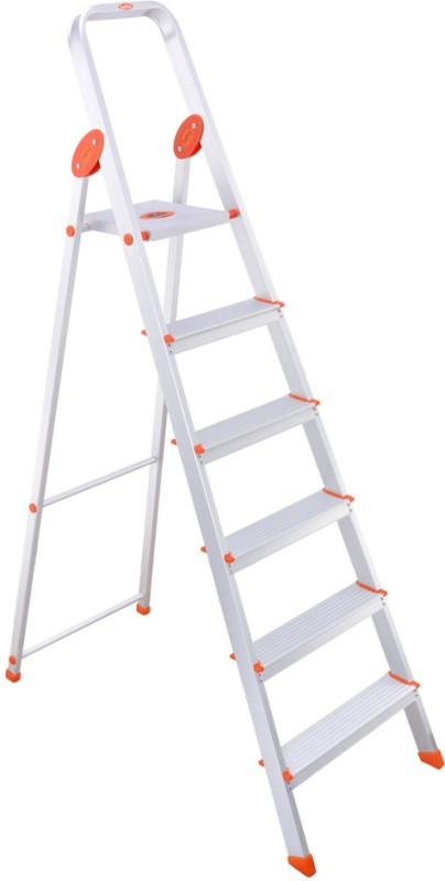Bathla 5 Step Aluminium Ladder(With Platform)