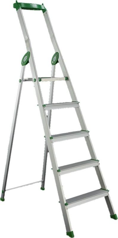 Bathla Eco 4 Step Aluminium Ladder(With Platform, Tool Tray)