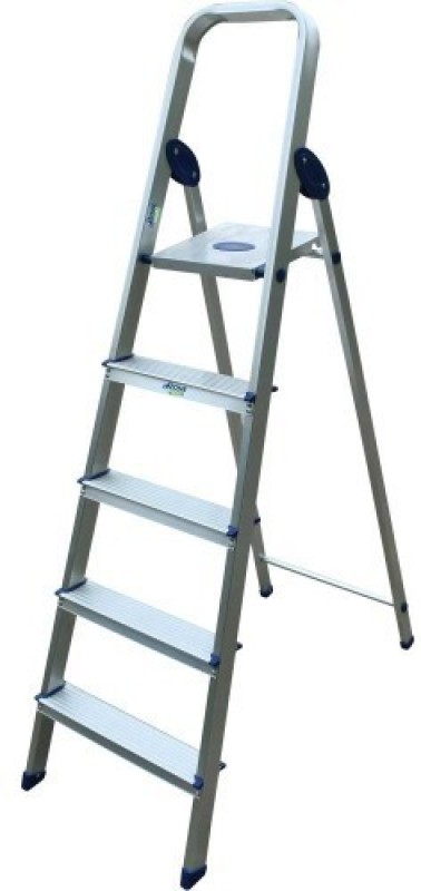 Imported Aluminium Ladder(With Platform, Hand Rail)