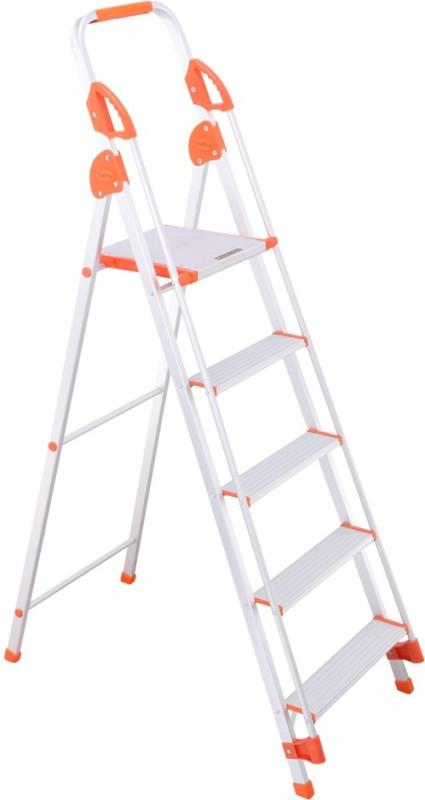 Bathla Baby 4 Step Aluminium Ladder(With Platform, Hand Rail)