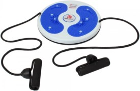 Kawachi Kawachi Twisting Disc Massage Body Exercise with Rope-Blue Stepper