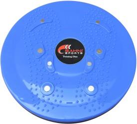 Sahni Sports Magnetic Massage Disc Figure Stepper(Blue, Black)