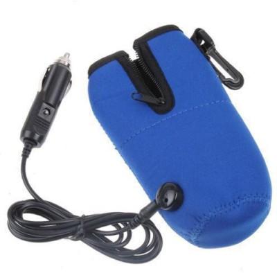 Shrih Travel Coffee Water Milk Baby Bottle Warmer Heater - 1 Slots(Blue)