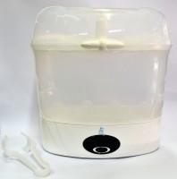 SnowBear Digital 6-Bottle Sterilizer - 6 Slots(White)