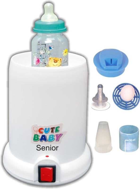 Littles Paradise CuteBaby senior (5 in1) Instant bottle warmer - 1 Slots(white)