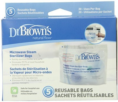 Dr. Brown s Microwave Steam Sterilizer Bags - 1 Slots
