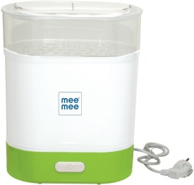 Mee Mee 3 in 1 Steam Sterilizer - 6 Slots(White)
