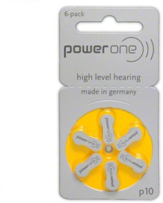 Power One Zinc P10 Hearing Aid Batteries