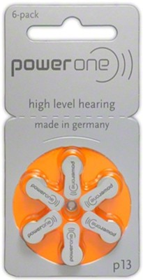 Power One P13 1.45V PR48 Hearing Aid Batteries