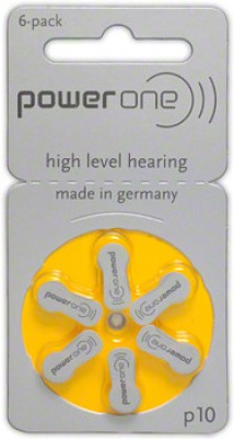 Power One P10 1.45VPR70 Hearing Aid Batteries