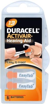 Duracell Activair Easytab Hearing Aid Batteries size 13 (60 PCS)(orange)