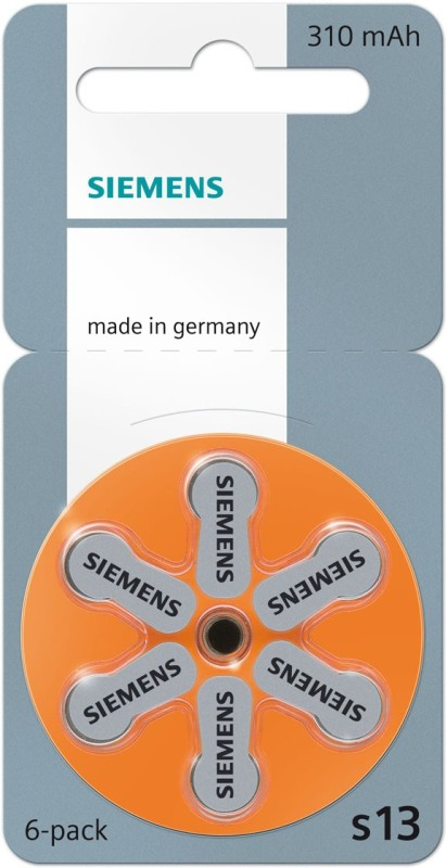 Siemens Hearing Aid Battery size 13 (36 PCS)(Orange)