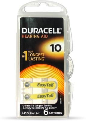 Duracell Easytab Hearing Aid Batteries 1.45 V Zinc Air Any type(Multi colour)