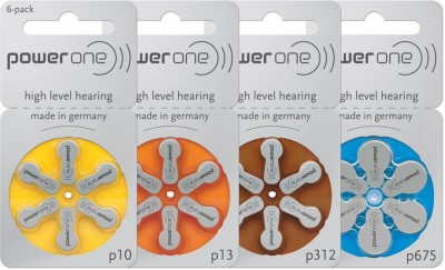 Power One Hearing Aid Battery size 312 (60 PCS)
