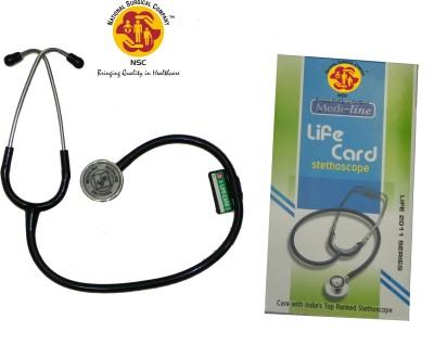 NSC Medi Line Life Card Acoustic Stethoscope