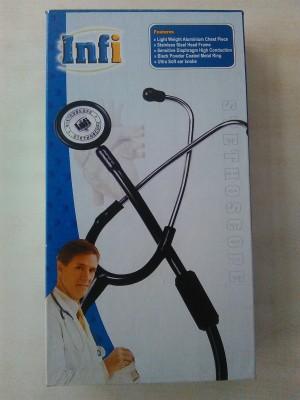 Infi Infi Aluminium Stethescope Acoustic Stethoscope