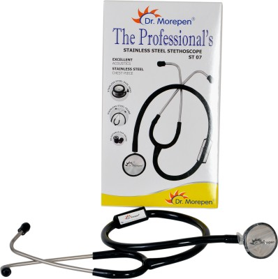Dr. Morepen The Professionals Stainless Steel ST-07 Acoustic Stethoscope