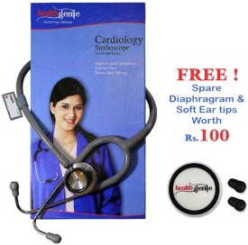 Healthgenie Doctors Dual Stainless Steel HG-301G Acoustic Stethoscope