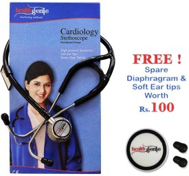 Healthgenie Cardiology SS Double Diaphgram HG-403B Acoustic Stethoscope