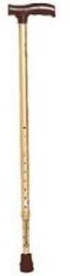 tynor walking stick L type golden Goalkeeper Stick - 40 inch