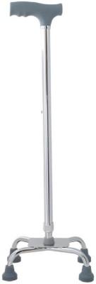 Berimed Quadripod Walking Stick Aluminium Polo Stick - 35 inch