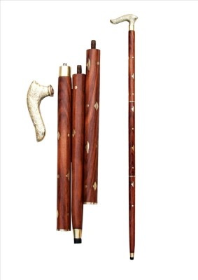 Woodpedlar Walking Stick Polo Stick - 36 inch(Brown)