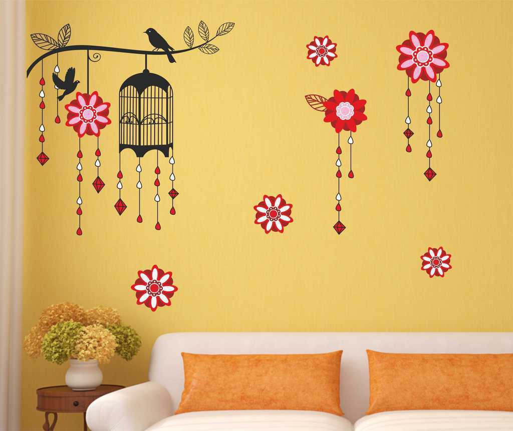 Flipkart - Decals, Clocks & more Home Decor Range