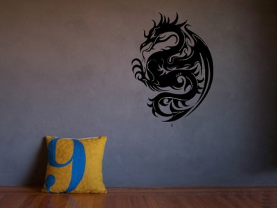 Onebuy.in-Dragon in Living Room Small PVC Sticker