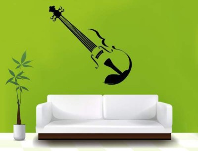 Hoopoe Decor Medium Beautiful guitar Sticker