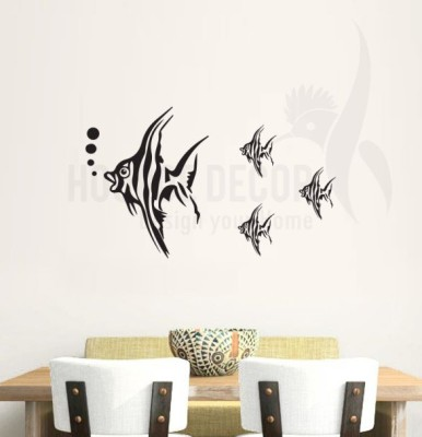 Hoopoe Decor Medium Fish Sticker