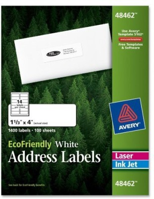 Avery Small Addressing Labels Sticker