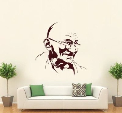 Hoopoe Decor Medium Mahatma Gandhi Sticker
