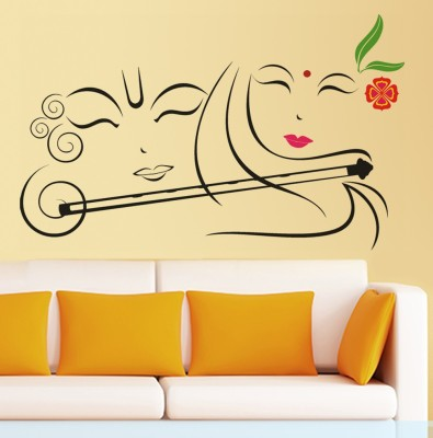 Happy walls Extra Large PVC Sticker(Pack of 1)
