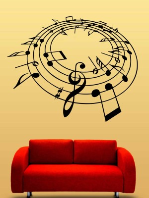 Trends on Wall Small Music Sticker