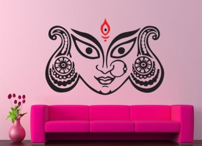 Hoopoe Decor Medium Maa Durga Sticker