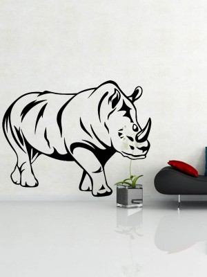 Trends on Wall Small Animal Sticker