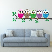 DeStudio Large Wall Stickers Sticker(Pack of 1)