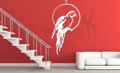 Hoopoe Decor Medium Beautiful Parrot Sticker