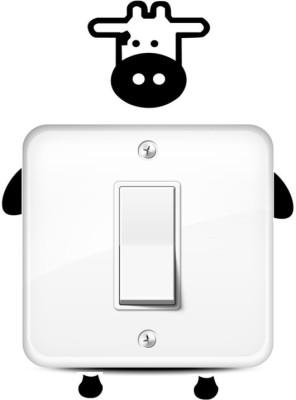 GrabDen Small Cow Switch Sticker