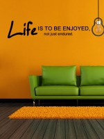 Trends on Wall Extra Large Quotes Sticker(Pack of 1)
