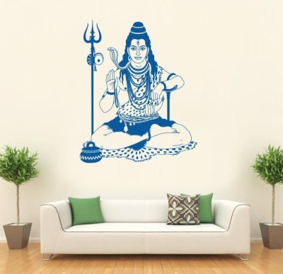 Hoopoe Decor Medium Lord Shiva Sticker
