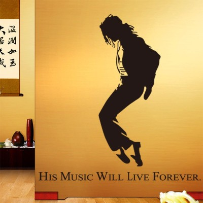 Oren Empower Michael Jackson In Dancing Pose Wall Decal