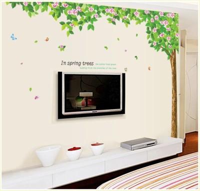 Oren Empower 2pc/Set (Double Sheet) Family Tree Wall Sticker